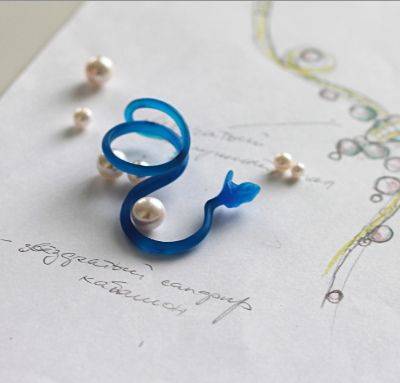 snake_ring_sketch_monquer_baltic_jewellery