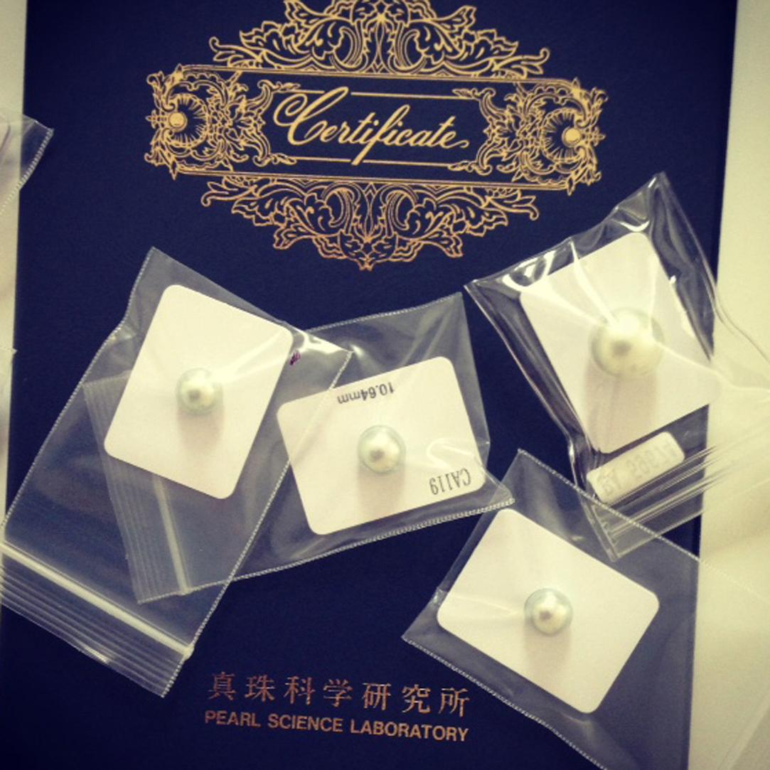 sea pearls certificate