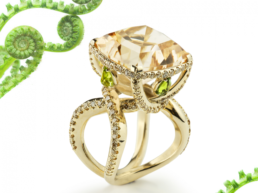 fern ring monquer jewellery