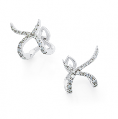 diamond earrings by monquer