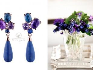 little bouquet earrings