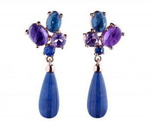 Little spring bouquet earrings