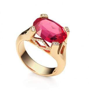 Royal ruby ring